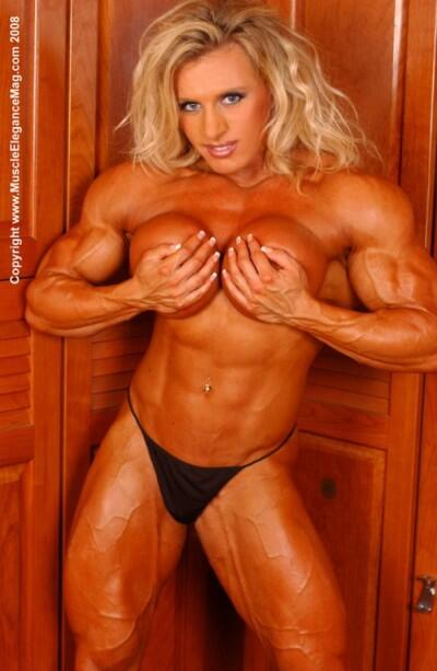 Nude female muscle galleries — 3