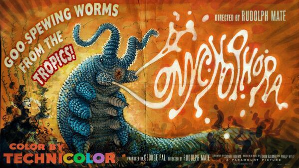 Velevet Worm Poster