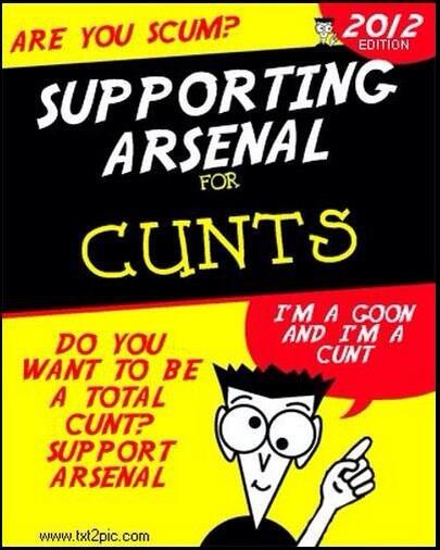 Here is the Gooner's Bible, amen! #coys #SPURS #THFC http://t.co/aTQFw2Vu0W