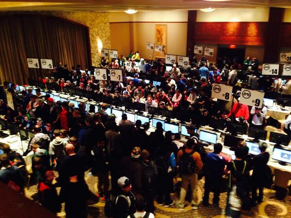 Over look of the venue here at @UMGEvents http://t.co/3YCuIgSeI1