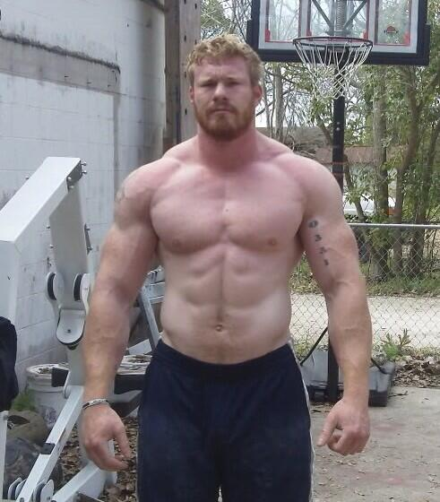 Beefy muscle