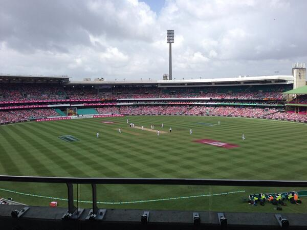How good is the @scg #Ashes #PinkTest http://t.co/eUFCW6JUIk