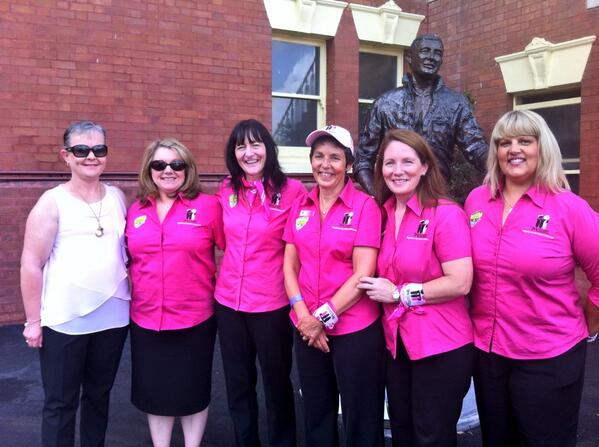 @McGrathFdn the beautiful MBCNs at the #PinkTest http://t.co/bZhNtbmYC6