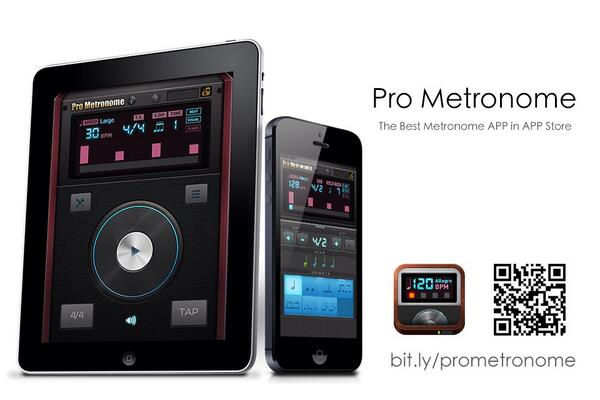 @EUMLab Pro Metronome rocks! Pro Version Upgrade is FREE right now! bit.ly/prometronome