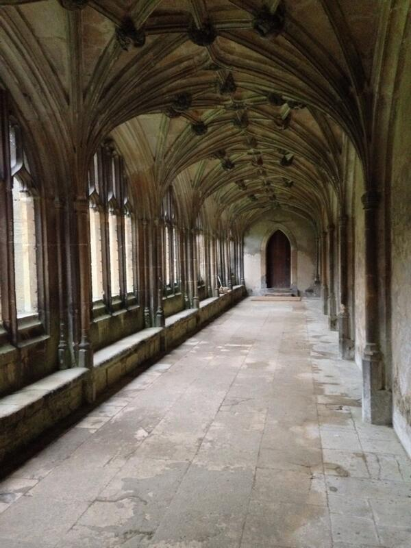 The Cloisters, Lacock Abbey