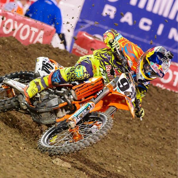 Huge congrats to @KenRoczen94 on an awesome performance last night at #A1. Not bad #rookie! P/C @Cudby