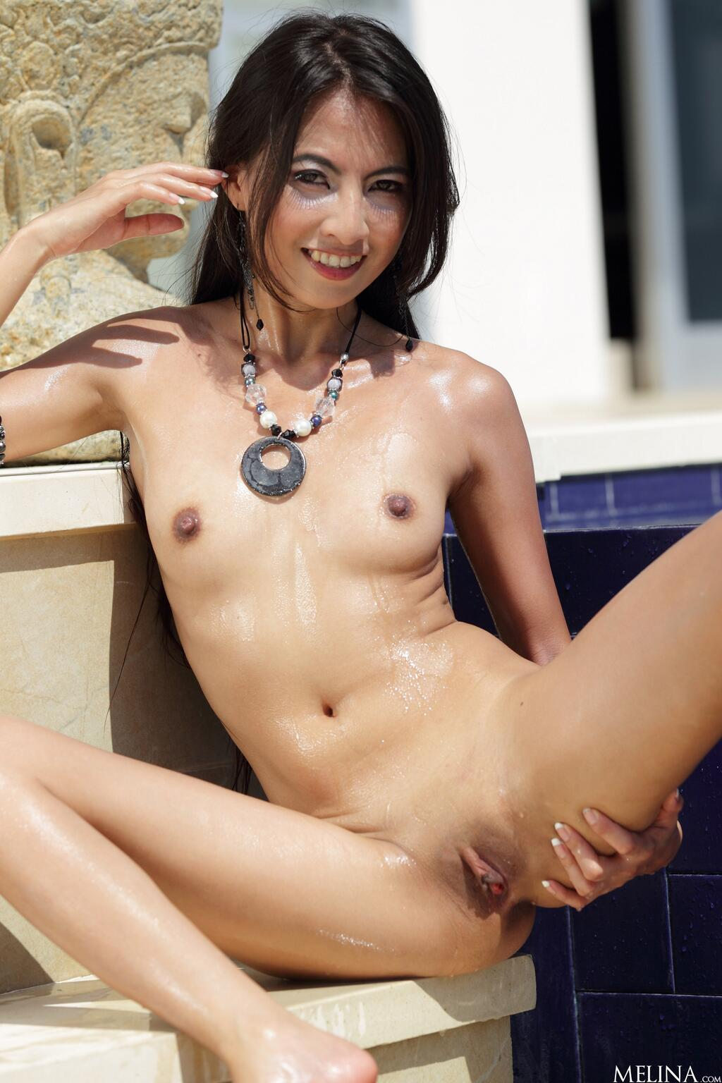 One hot asian whore pussy