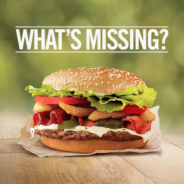 Burger King On Twitter It Looks Like This ANGRY WHOPPER Forgot To Get Dressed Whats Missing Tco KOwxPQSK30