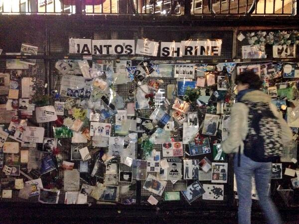 Ianto's Shrine, Cardiff Bay