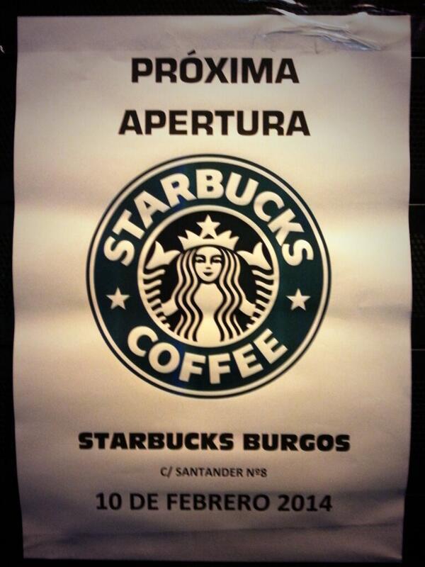 CAGATE LORITO!!!! Por fin @starbucks_es  en #BURGOS! #TomaYa http://t.co/qT1EGuPNha