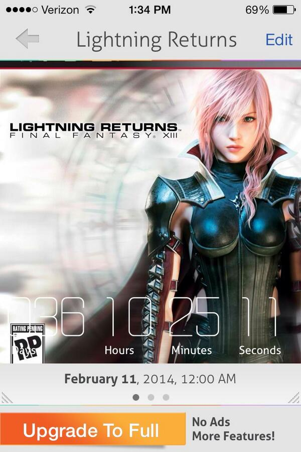 36 days, 10 hours, 25 minutes, and 11 seconds to go! @missalihillis http://t.co/LaSsQyxdC1