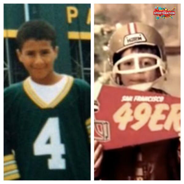 Today's quarterbacks when they were kids.  http://t.co/mAWz94Iusn