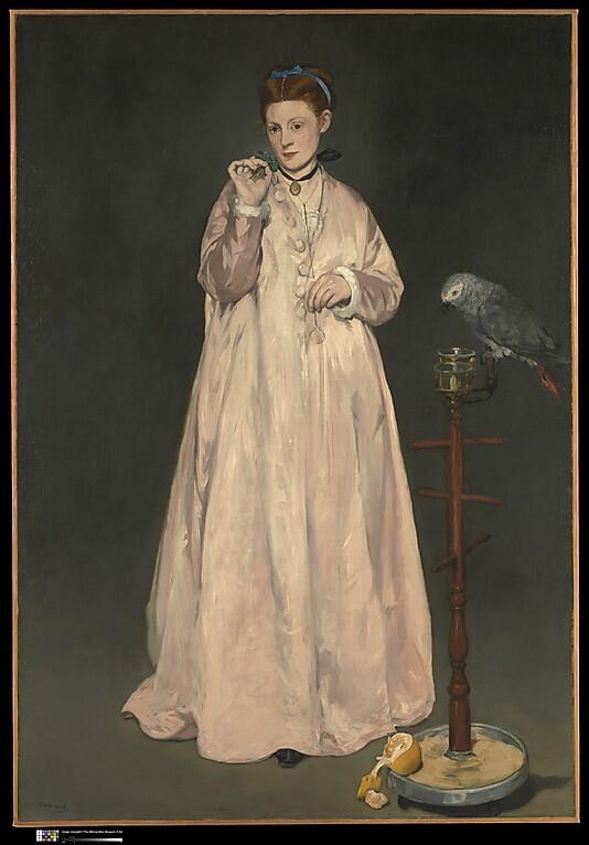 MT @WeeLaura Scholars have interpreted this Manet painting as an allegory of the five senses. http://t.co/P797PGWotA  http://t.co/YOcQNxCINw