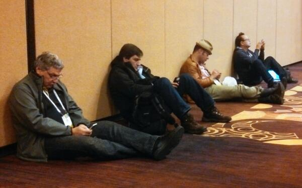 Sometimes #CES2014 reminds me of my hobo days http://t.co/UbLs92BVuw
