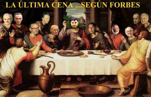 """@Alferez_Ags: La úlitma cena del Chapo Guzmàn según Forbes:  http://t.co/ajpXw73cAf""/que cenó frijolitos dicen"