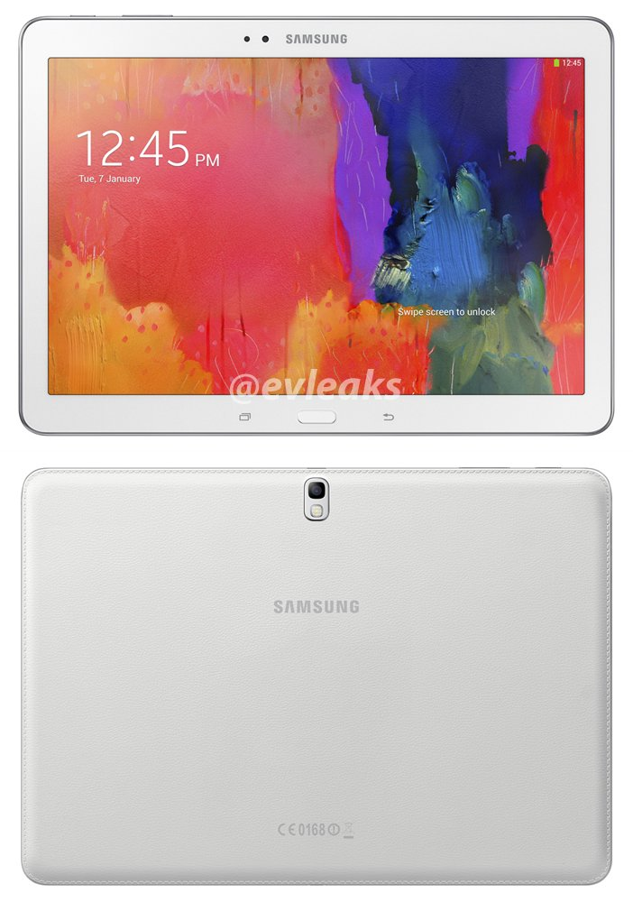 Galaxy Note Pro 12.2, Tab Pro 12.2, Tab Pro 10.1, Tab Pro 8.4 specs leaked, press image also available