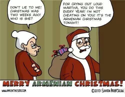 armenianchristmas hashtag on twitter - When Is Armenian Christmas