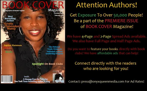 Help spread the word @africanvoices African. A new mag that introduce books and authors to readers http://t.co/VswfOZCHLb