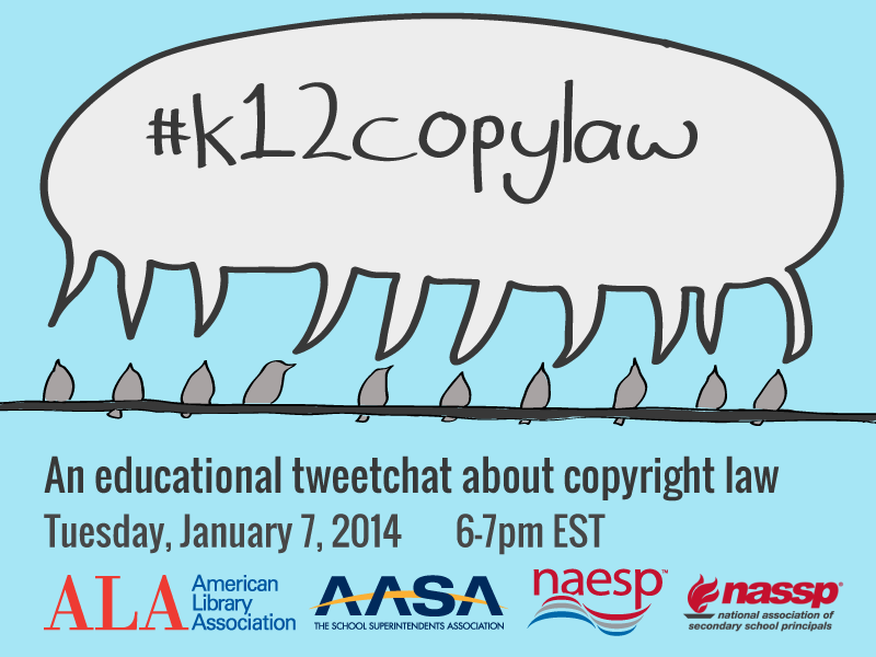 Thumbnail for #k12copylaw Chat - Wrap-Up for Principals
