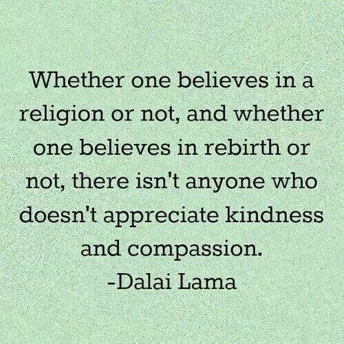Twitter / JohnnyBMcGillis: Kindness & compassion ...