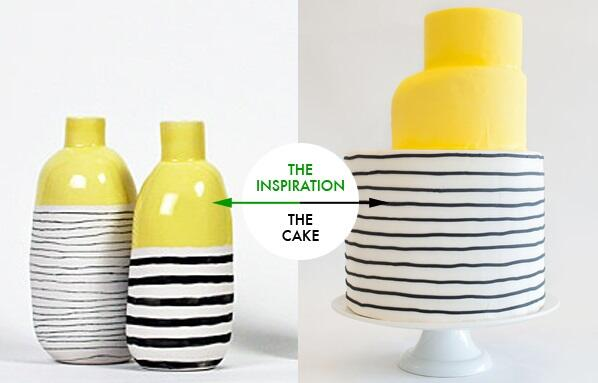Start the week off bright w/ this striped stunner from @NineCakes! Photos by @brklynview. | http://t.co/eQgmak4fzc | http://t.co/rZR8s1qL2f
