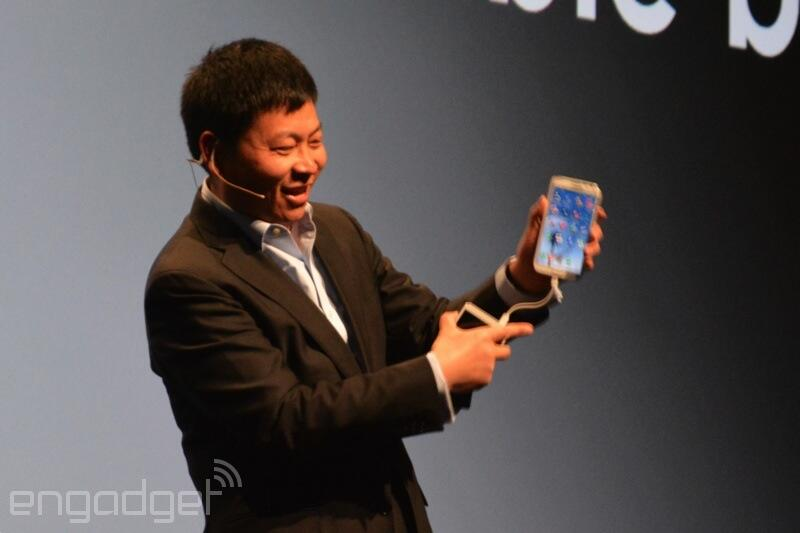 Twitter / richardlai: Ha, @Huawei's Richard Yu uses ...