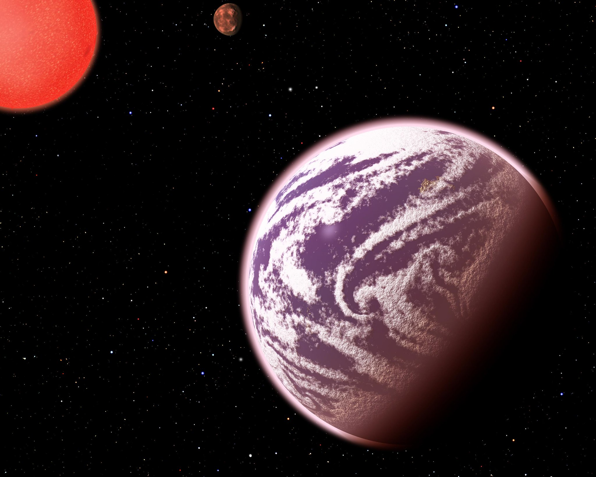planet KOI-314c artist's conception