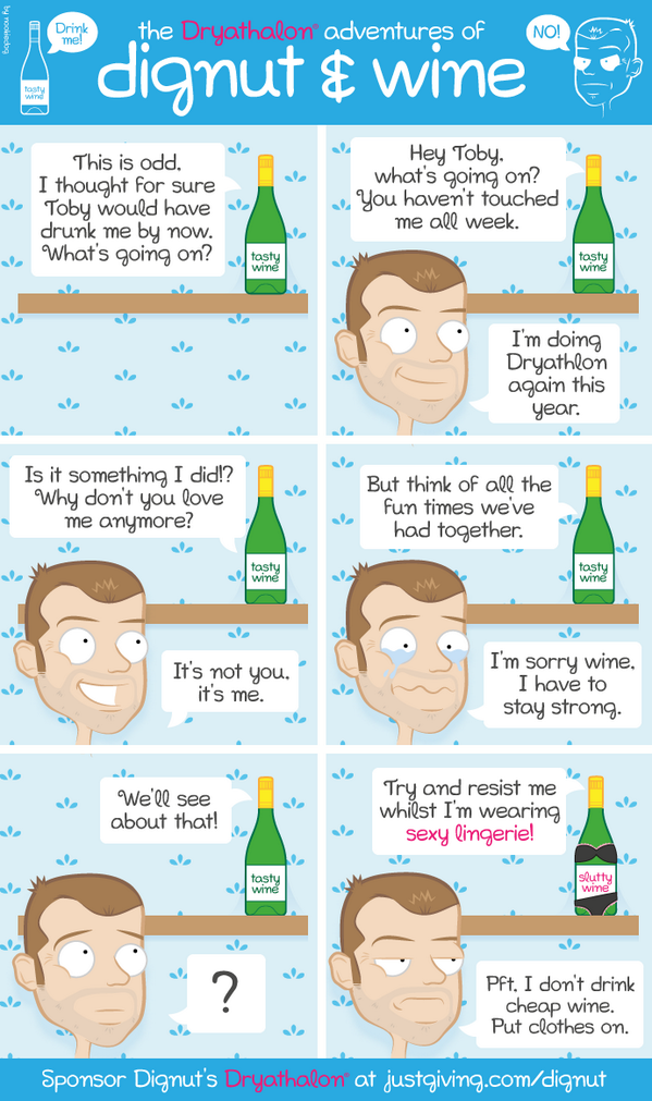The first in a series of adventures of Toby and Wine. http://t.co/B4hipddB4D #dryathlon http://t.co/Wan4MNQ821