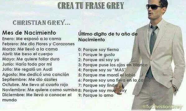 Christian Grey Ar Twitter Crea Tu Frase Grey