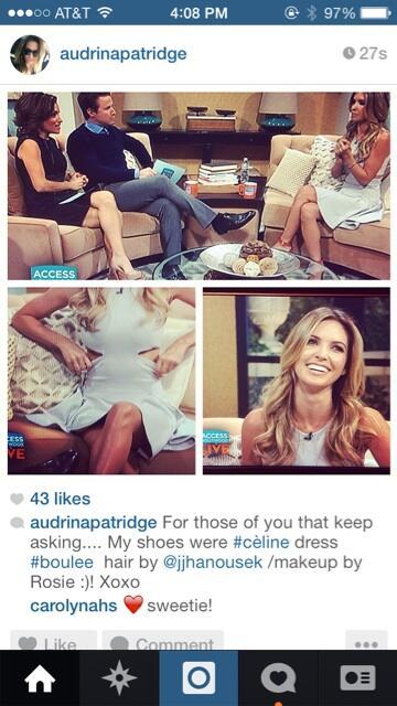 Audrina Patridge  - dress and èl twitter @AudrinaPatridge boulee,c