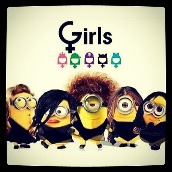 ⓒ  Que coisa mais linda essas guels versão minion!  #GirlsOficial #Girls #Girlband #Brazil #MuitoAmor #Minio...pic.twitter.com/Gy3A4QdSHA