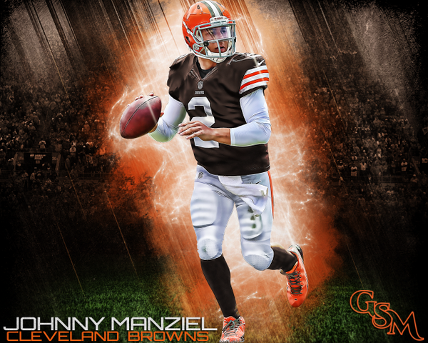 "Brian Konnick On Twitter: ""Johnny Manziel Cleveland Browns"