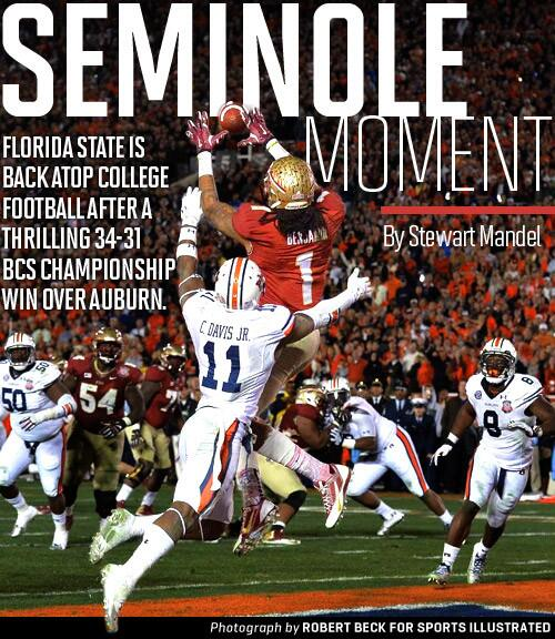SEMINOLE MOMENT: Florida State back on top after thrilling BCS championship victory: http://t.co/dFKWNAexIB http://t.co/2fQ2JMBXPP
