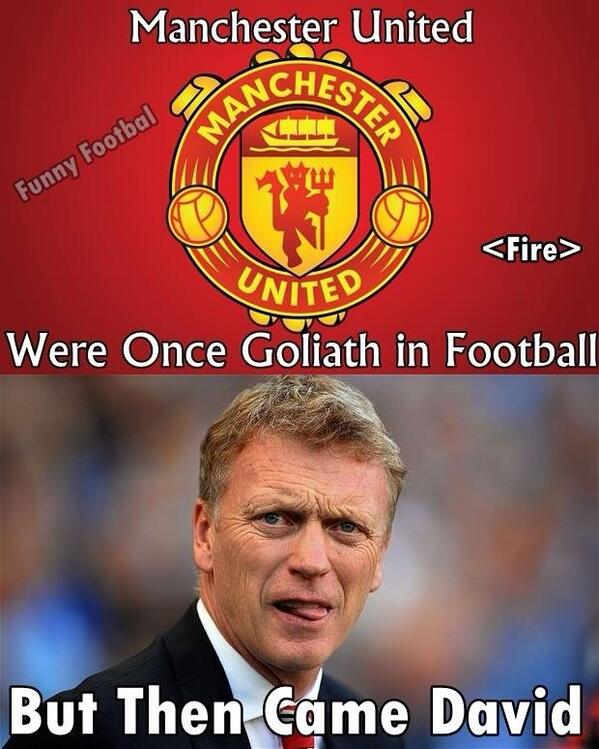 Yet more David Moyes jokes & Memes flood the internet after Sunderland defeat