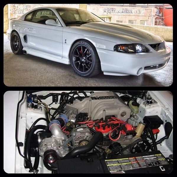 """Sn95 Mustang Vortech Supercharger: SN95Source.com On Twitter: """"Member BLWNBYU Vortech-blown"""