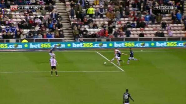 Picture showing Tom Cleverleys foul on Adam Johson was right on the line of the box