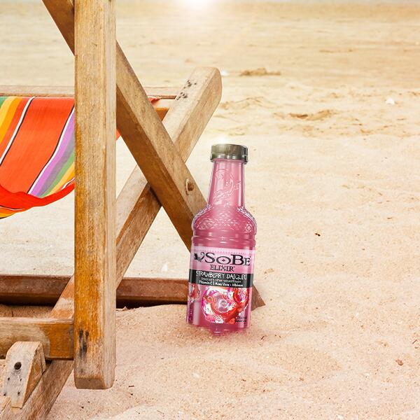 Imagine it... toes in the sand, SoBe Strawberry Daiquiri in hand! RT if you like the sound of that! http://t.co/RnJqqScF9g