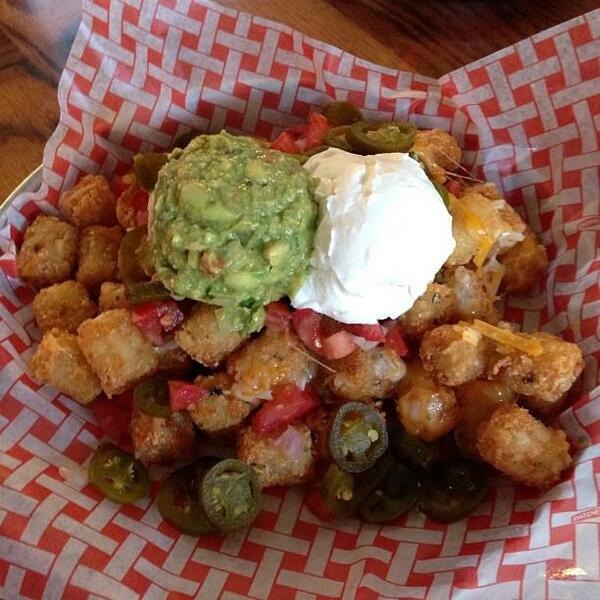 These NACH-YO TOTS can be yours! Come get $5 Specialty TOT Skillets starting at 4 PM then join us for TRIVIA at 8 PM! http://t.co/nyDbXrMfGT