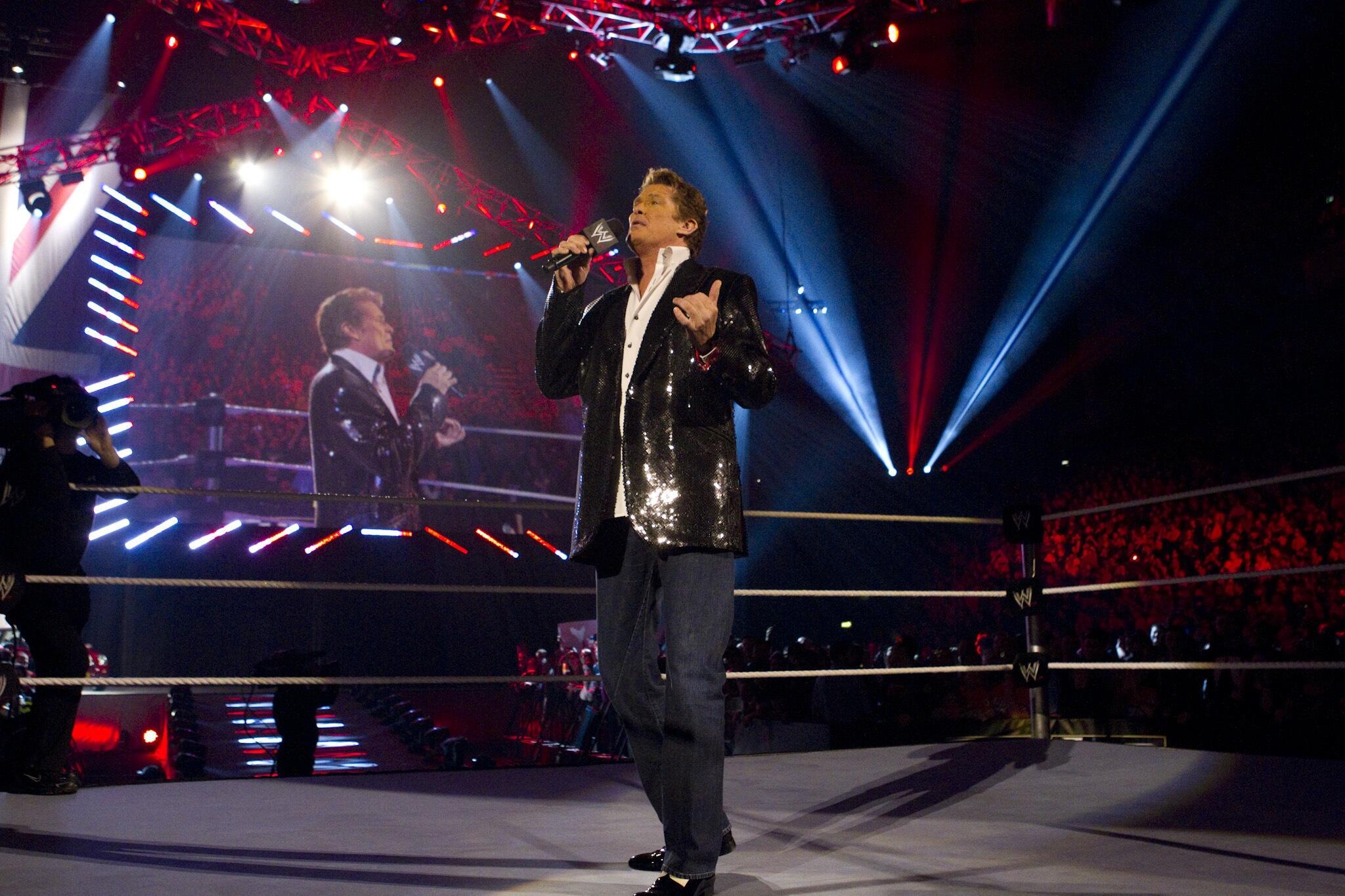 Twitter / DavidHasselhoff: Great seeing @WWE Legends on ...