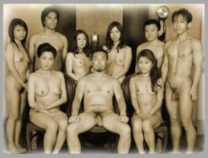 Asian familys in the nude