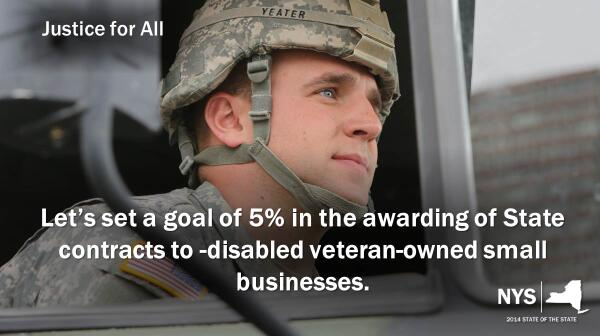 Disabled #veterans showed us their loyalty, we must show them ours. #jobs #smallbiz #NYSOS14 http://t.co/rOWQE1qSjm