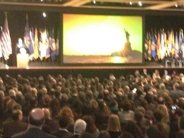 .@NYGovCuomo on final note of #NYSOS2014: We are one http://t.co/Rpvi9GINBa