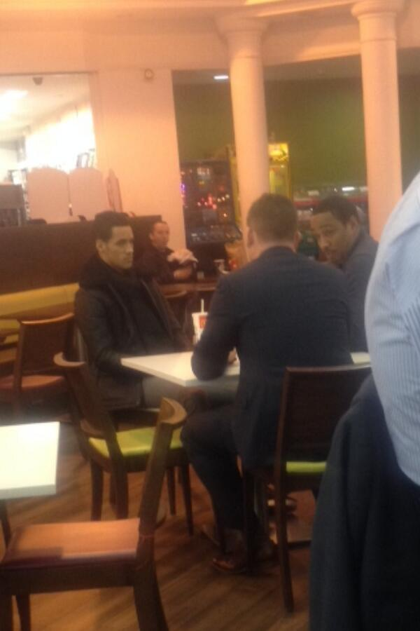 Real or fake? A picture claiming to show Blackpools Paul & Tom Ince talking to Swansea is leaked online
