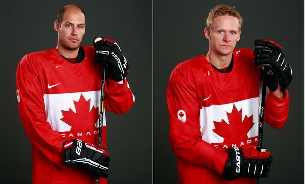 Image result for ryan getzlaf corey perry team canada