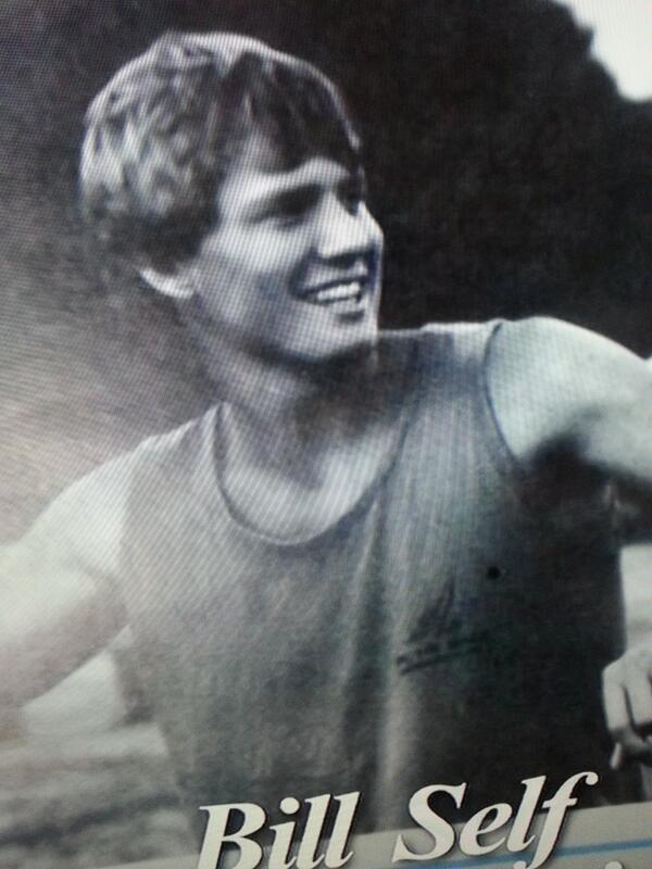 Vintage Bill Self via @JayBilas and  @Jayhawk96. Swag on swag. #kubball http://t.co/VEuWmeWlwJ