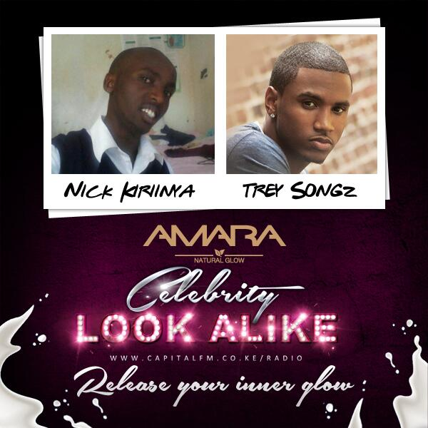 Twitter / CapitalFM_kenya: Nick thinks he looks like Trey ...