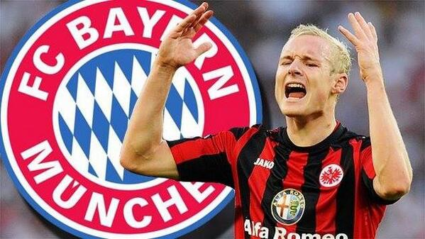 Bayern Munich agree to sign Sebastian Rode from Eintracht Frankfurt in the summer for free [Kicker]