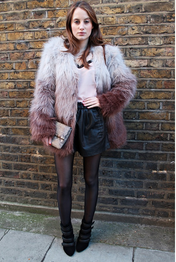 How amazing does @RosieFortescue look in @RareLondon's ombre fur jacket on her style blog today?! http://t.co/IylQlHRB2K