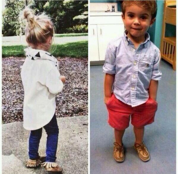 How my kids will be dressed