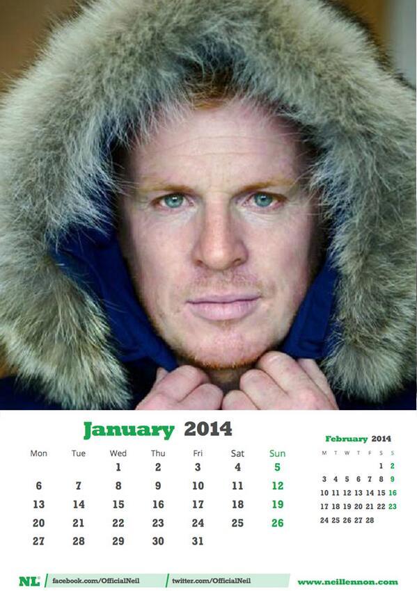 Image result for neil lennon calendar